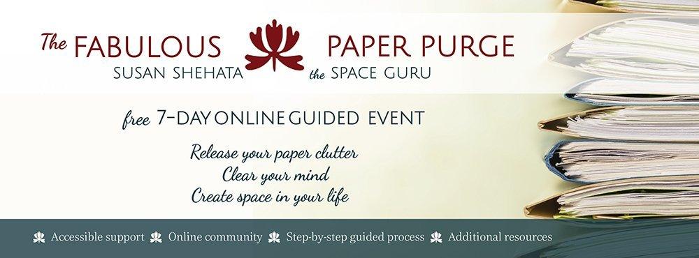 Paper Purge Header