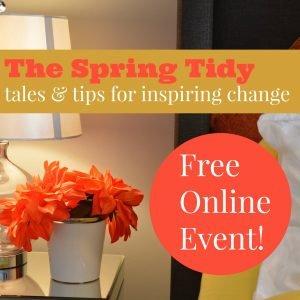 The Spring Tidy Webinar