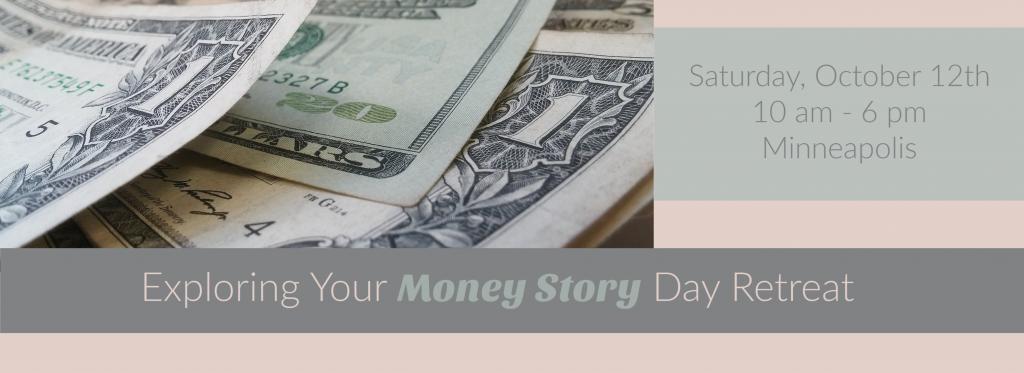 money story header